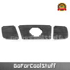 For Nissan Titan 2004 2005 2006 2007 Upper Billet Grille Insert (With Logo Show)