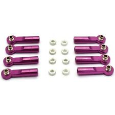 Hot Racing SVX160HBN07 HPI Savage Purple 7075 Turnbuckle Ball End (8)