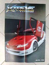 Q63 Poster Alfa 156 Xtreme Tuning 55 x 40 cm.