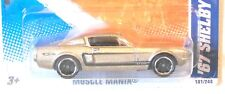 2011 Hot Wheels #101 MUSCLE MANIA * '67 SHELBY GT500 * MF SAND/TAN VARIANT 1967