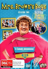 MRS. BROWNS BOYS (COMPLETE SEASON 2 - DVD SET SEALED + FREE POST)