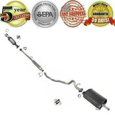 For Honda CR-V 1997-2001 Muffler Resonator Exhaust System & Catalytic Converter