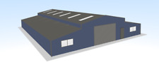 Steel Framed Buildings - (Auto Barn) Steel Unit - 20m x 25m x 4m Steel Building
