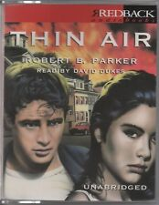 THIN AIR by Robert B. Parker - Audio Cassette, Unabridged NEW SEALED