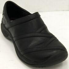 Merrell J66590 Encore Eclipse Black Leather Women's Loafers Sz 6 M Shoes