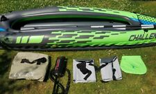Intex K1 Challenger Inflatable Kayak for One Person - Great Condition