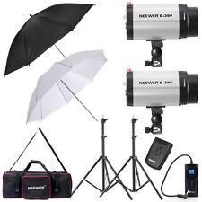 Neewer 600W Monolight Strobe Flash Light Umbrella Lighting Kit (300DI)