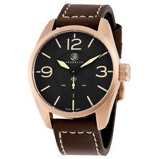 Brooklyn Watch Company Lafayette Black Dial Gold-Tone Mens Watch CLA-B