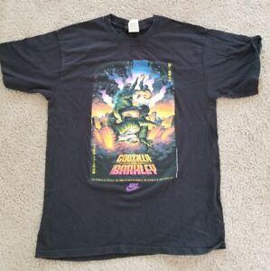 Godzilla vs Charles Barkley, T-shirt, XL