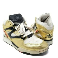 Reebok Pump Limited Edition Omni Lite Metallic Gold Stucco 4-175015 Men's Size 9