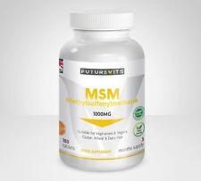 Msm 1000mg Haut Résistance 180 Comprimés Pas Capsules Méthylsulfonylméthane GB
