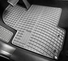 passend für Fiat 500X Gummifußmatten Gummimatten Fußmatten GRAU ab Baujahr 2014-