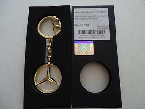 MERCEDES BENZ Key Ring Brussels Golden Colour  B66953741 OE