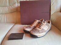 Louis Vuitton Ladies Beige Trainers Sneakers Shoes   size 37  UK 4   Genuine