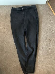 LADIES BLACK HIGH WAIST SKINNY JEANS UK SIZE 16-18R GREAT CONDITION