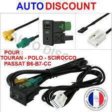 USB Aux in Adaptateur AUTO RADIO pour VW Golf 5 6 PASSAT TOURAN rcd510 rcd310