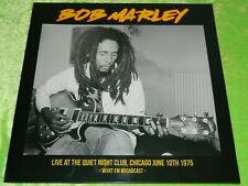 BOB MARLEY : Live at The Quiet Night Club, Chicago 1975 - LP NEW & SEALED