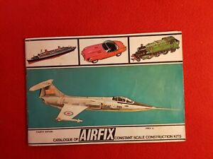 AIRFIX : Constant Scale Kit Catalogue : 4th edition - 1965 + Price List
