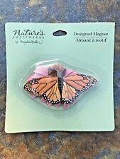 Vintage Hallmark Marjolein Bastin Monarch Butterfly Magnet - Rare