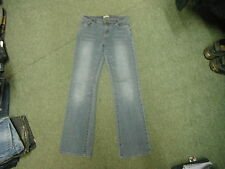 "Cherokee Bootcut Jeans Size 10 Leg 31"" Faded Dark Blue Ladies Jeans"