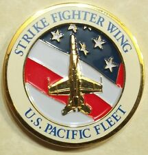 Strike Fighter Wing US Pacific Fleet Navy Challenge Coin