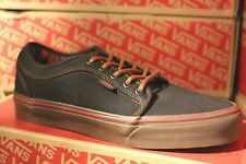 VANS Chukka Low Washed Canvas Casual Shoes MEN'S 6.5 WOMEN'S 8