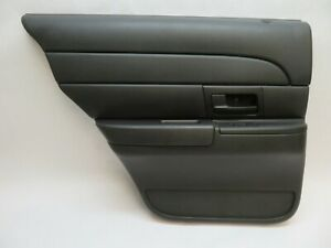 2003-2011 FORD CROWN VICTORIA LEFT DRIVER SIDE REAR DOOR INTERIOR TRIM PANEL