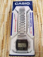 New!! CASIO Standard Mens Watch A158WA-1JF Silver Japan Best Seller Model