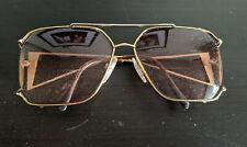 Vintage NeoStyle Women's Goldtone Metal Square Aviator Style Sunglasses Frames