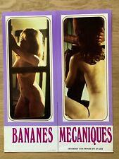 Dossier de presse»BANANES MÉCANIQUES «1973-Marie-Claire DAVY-DRANCOURT- F.DAVY