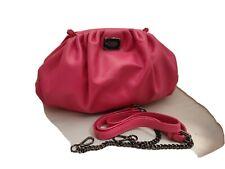 THOM by Thomas Rath Tasche Umhängetasche pink Dustbag echt Leder Kette