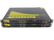 * QTY. (1) RUGGEDCOM RX1000-F-RM-48-48-XX-XX-TX01-TX01-TC2-XXX-XX INDUSTRIAL STR