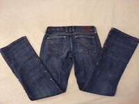 Womens Lucky Brand Jeans Sweet N Low 2/26 Denim 28x29 Pants