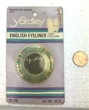 Yardley English Eyeliner Rare Mod SEALED Package 1960's Chocolate London Hippy