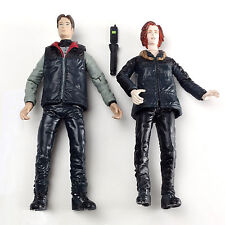 The X-Files Agent Fox Moulder & Dana Scully Arctic Outfit McFarlane Toys Mint