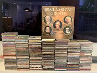Lot 250+ CDs DIVERSE Collection Rock Alternati Jazz Blues Christmas Children Pop