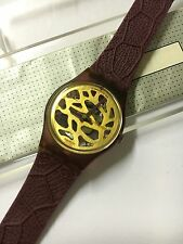 VINTAGE Swatch LR109 Beaujolais New In Box 1989