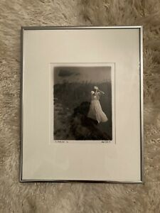 RARE 1991 VINCENT SERBIN BLACK AND WHITE PHOTOGRAPH! SIGNED AND NUMBERED 9/50!