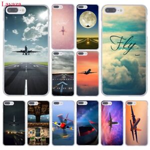 Pattern airplane hard case cover For iPhone XS Max XR 7 Plus 6 6S 5S 5 4S 4 8 X