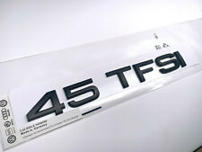 OEM Style Matte Black 45 TFSI Badge Sticker for Audi A4 A5 A6 A7 Q3 Q5 Q7 TT