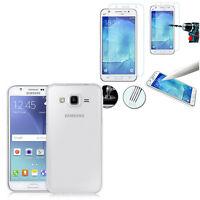 Housse Etui Coque Gel UltraSlim Samsung Galaxy J5 SM-J500F + Film Verre Trempe