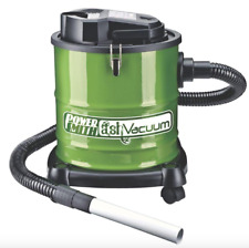PowerSmith 3 Gallon Fireplace Stove Warm Cool Ash Vacuum Cleaner Hose Nozzle Kit