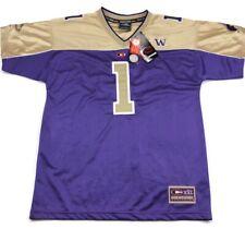 Washington Huskies Purple Home Football Jersey #1 Colosseum Athletics Wmns Large