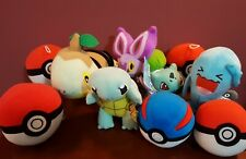 Pokemon Toy Factory And Tomy Plush Turtwig Noibat Squirtle Bulbasaur And More!