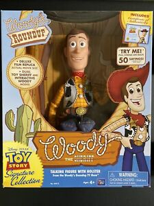 Toy Story E6-DUTJ-VU5V Sheriff Woody Talking Figure