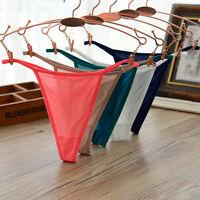 2x Sexy Women Briefs Thongs G-string Nylon Underwear T-back Sleepwear Knickers