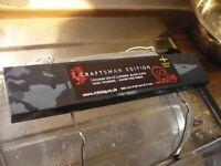 Natural Sharpening Stone 300mmx60mm - Miniog SLATE Craftsman Edition razor hone