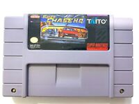 Super Chase H.Q. HQ Nintendo SNES Game TESTED + WORKING & AUTHENTIC!