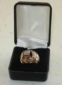 Authentic Original 10K Gold 1961 ABC 300 Game American Bowling Congress Ring