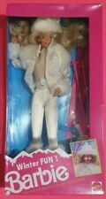 Barbie Winter Fun Mattel Vintage 90'
